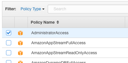 AWS - IAM - Managed Policy - AdministratorAccess